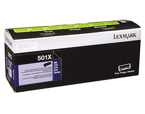 Original Lexmark 50F1X00 501X Ms410 Black Return Program Extra High-Yield Unison Toner Cartridge