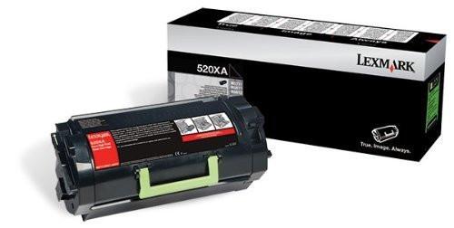 Original Lexmark 52D0XA0 520xa Black Extra High Yield Unison Toner Cartridge MS711dn MS811 MS812n MS812de