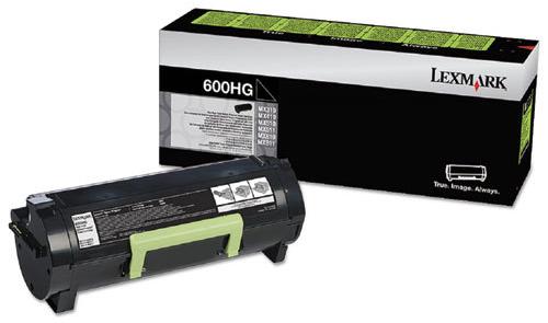 Original Lexmark 60F0H0G 600HG Mx310 Black Return Program High-Yield Toner Cartridge