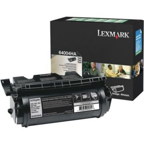Original Lexmark 64004HA Return-Program Print Cartridge for Labels  High Yield