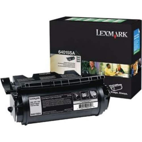 Original Lexmark 64015SA Black Laser Toner Cartridge