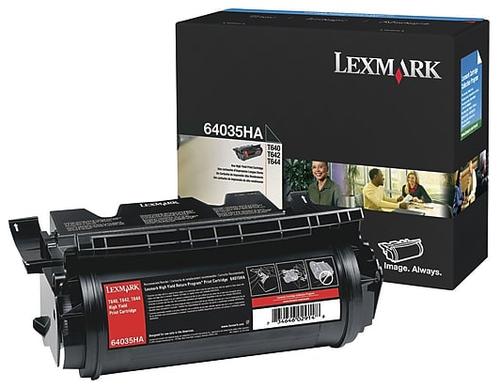Original Lexmark 64035HA T640 Print Cart Black High Yield Toner Cartridge
