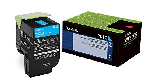 70C00CG   Original Lexmark Toner Cartridge – Cyan