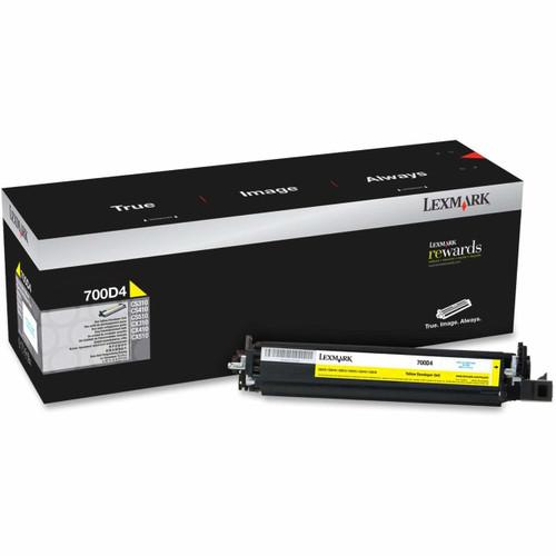 70C0D4G | Original Lexmark Developer Unit – Yellow