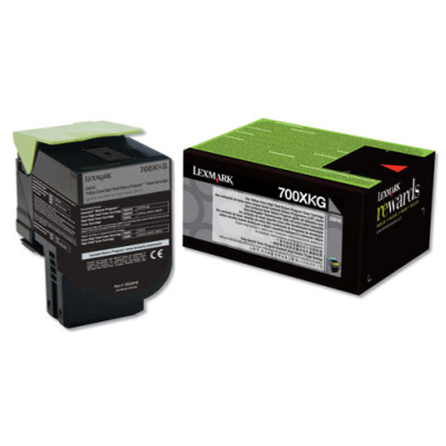 70C0XKG | Original Lexmark Extra High-Yield Toner Cartridge – Black