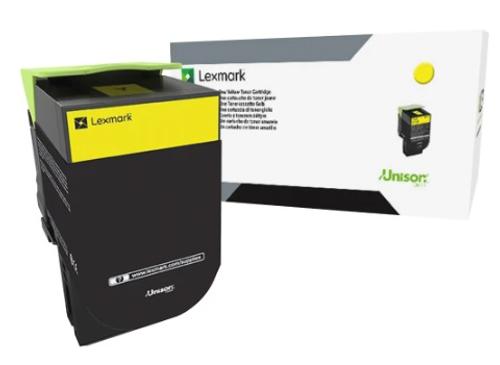 Original Lexmark 80C0S40 800S4 Yellow Unison Toner Cartridge