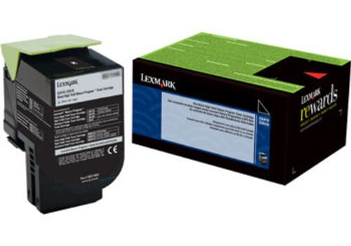 Original Lexmark 80C0XKG Unison 801xk Return Program Black X-High Yield
