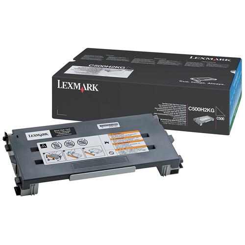 Original Lexmark C500H2KG High-Yield Toner Cartridge  Black