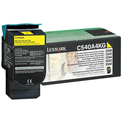 C540A4YG | Original Lexmark Toner Cartridge – Yellow