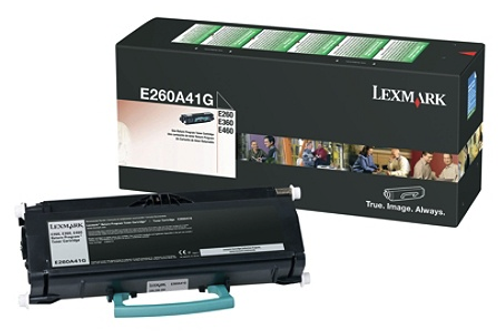 Original Lexmark E260A41G E26x/36x/46x Return Program Toner Cartridge Taa