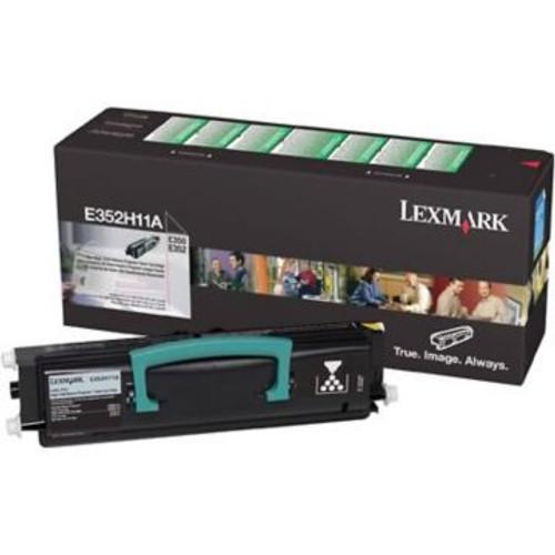 Original Lexmark E352H11A *RP High-Yield Toner Cartridge  Black