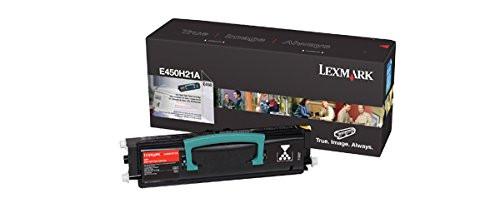 E450H21A | Original Lexmark High-Yield Toner Cartridge – Black