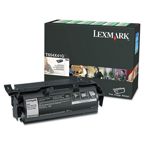 Original Lexmark T654X41G T654 Black Extra High-Yield Toner Cartridge Taa