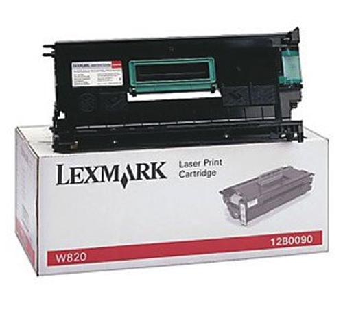 Original Lexmark W82060H Black High-Yield Toner Cartridge for W820, W820dn, W820n, X820e