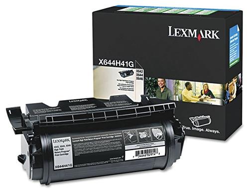 Original Lexmark X644H41G X644e Return Program Black High-Yield Toner Cartridge Taa