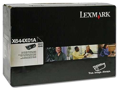 Lexmark X644X01A X644e X646e Return Program Black Extra High-Yield Toner Cartridge