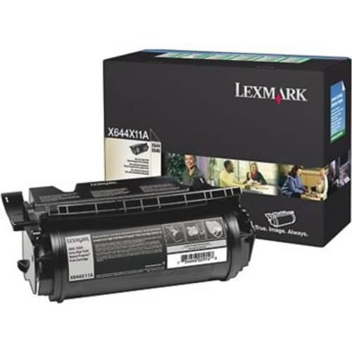Original Lexmark X644X11A Extra-High Yield *RP Laser Toner Cartridge  Black