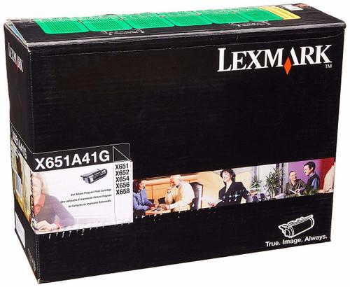X651A41G   Original Lexmark Toner Cartridge – Black