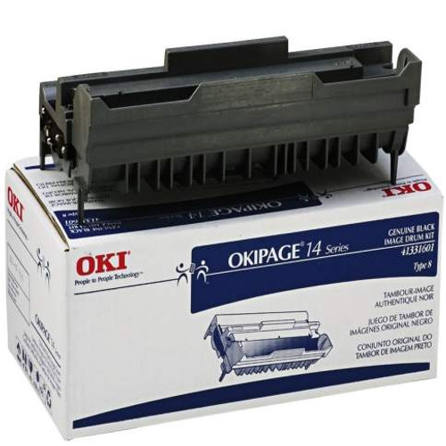 41331601   Original Okidata 14e Type 8 Image Drum - Black