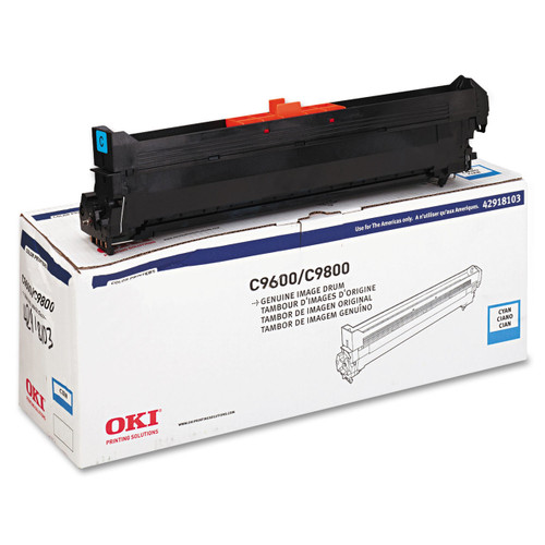 Original Okidata C96/9650/9800 Cy Drum 42918103