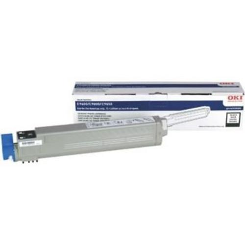 Original OKI 42918984 High-Yield Laser Toner Cartridge for C9600, C9650, C9800  Black