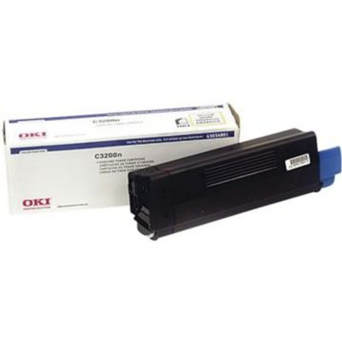 Original OKI 43034801 Yellow Laser Toner Cartridge