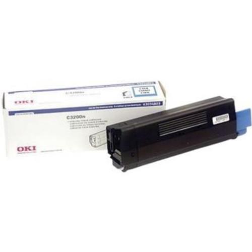 Original OKI 43034803 Cyan Laser Toner Cartridge