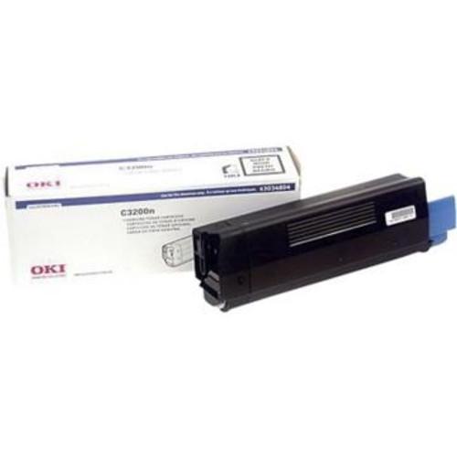 Original OKI 43034804 Black Laser Toner Cartridge