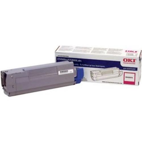 Original OKI 43324402 High Capacity Laser Toner Cartridge  Magenta