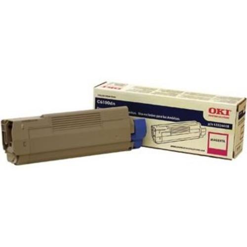 Original OKI 43324418 Toner Cartridge for C6100  Magenta