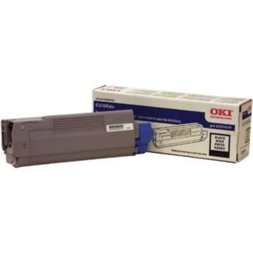Original OKI 43324420 Toner Cartridge for C6100  Black