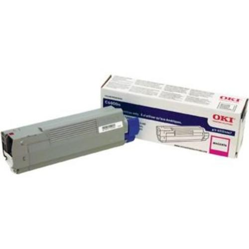 Original OKI 43324467 Laser Toner Cartridge for C6000N/DN  Magenta