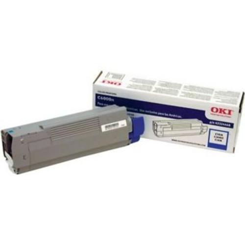 Original OKI 43324468 Laser Toner Cartridge for C6000N/DN  Cyan