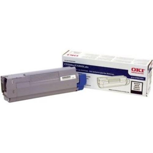 Original OKI 43381904 Laser Toner Cartridge  Black