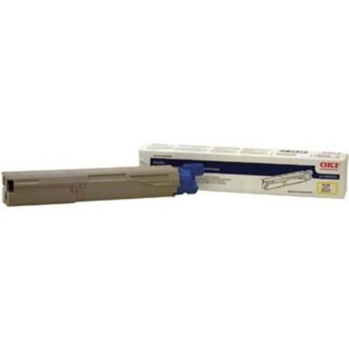 Original OKI 43459301 High-Yield Toner Cartridge for C3400  Yellow