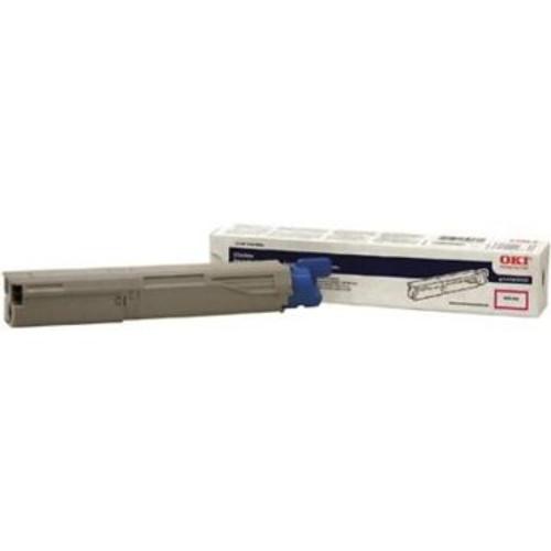Original OKI 43459302 High-Yield Toner Cartridge for C3400  Magenta