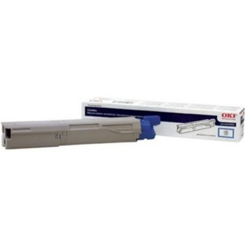 Original OKI 43459303 High-Yield Toner Cartridge for C3400  Cyan
