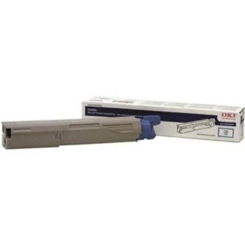 Original OKI 43459403 Toner Cartridge for C3400  Cyan