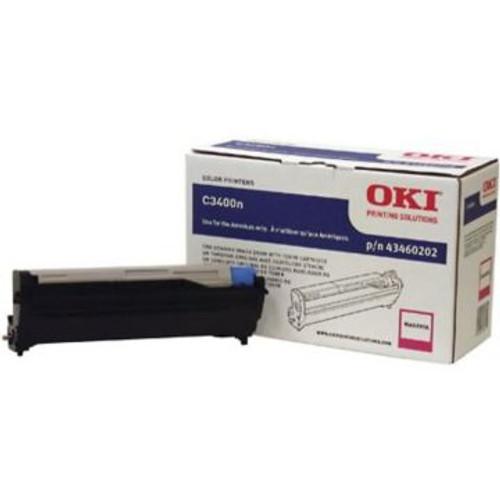 Original OKI 43460202 Image Drum for C3400n / C3600n / C3530n  / MC360n Printers  Magenta