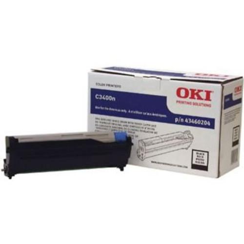 Original OKI 43460204 Image Drum for C3400  Black