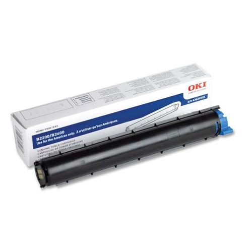 43640301   Original Okidata F/B2200/2400 Toner Cartridge - Black