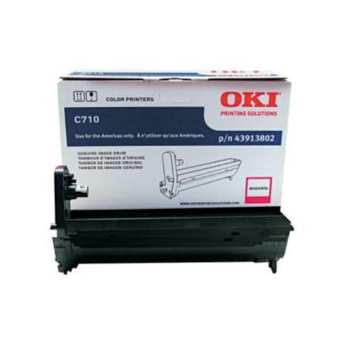 Original OKI Magenta Drum Unit  43913802