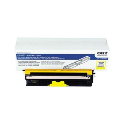 Original OKI 44250709 Standard-Capacity Laser Toner Cartridge  Yellow