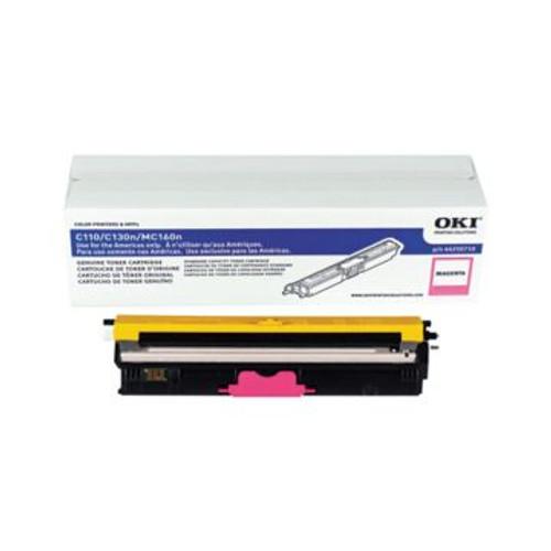 Original OKI 44250710 Standard-Capacity Laser Toner Cartridge  Magenta