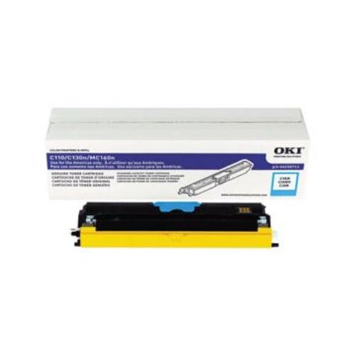 Original OKI 44250711 Standard-Capacity Laser Toner Cartridge  Cyan