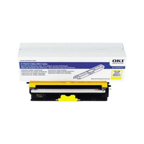 Original OKI 44250713 High-Capacity Laser Toner Cartridge  Yellow
