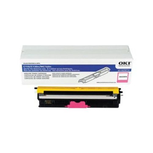 Original OKI 44250714 High-Capacity Laser Toner Cartridge  Magenta