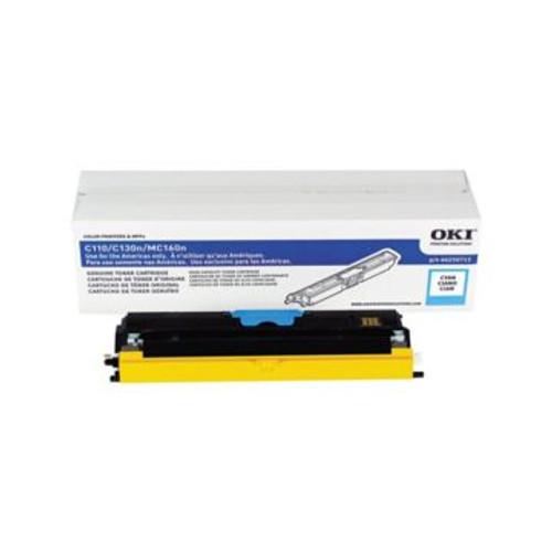 Original OKI 44250715 High-Capacity Laser Toner Cartridge  Cyan