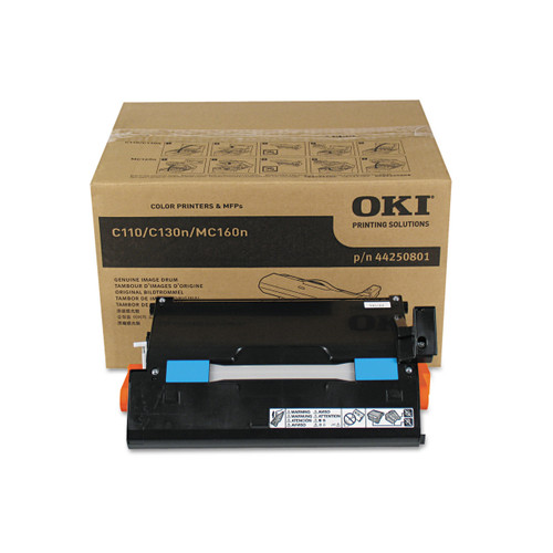 44250801   Original Okidata Mc160/C110/C130 Drum - Black