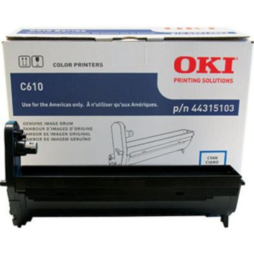Original OKI 44315103 Laser Drum Cartridge  Cyan